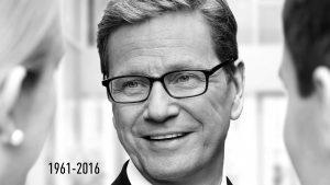 Guido Westerwelle 1961-2016