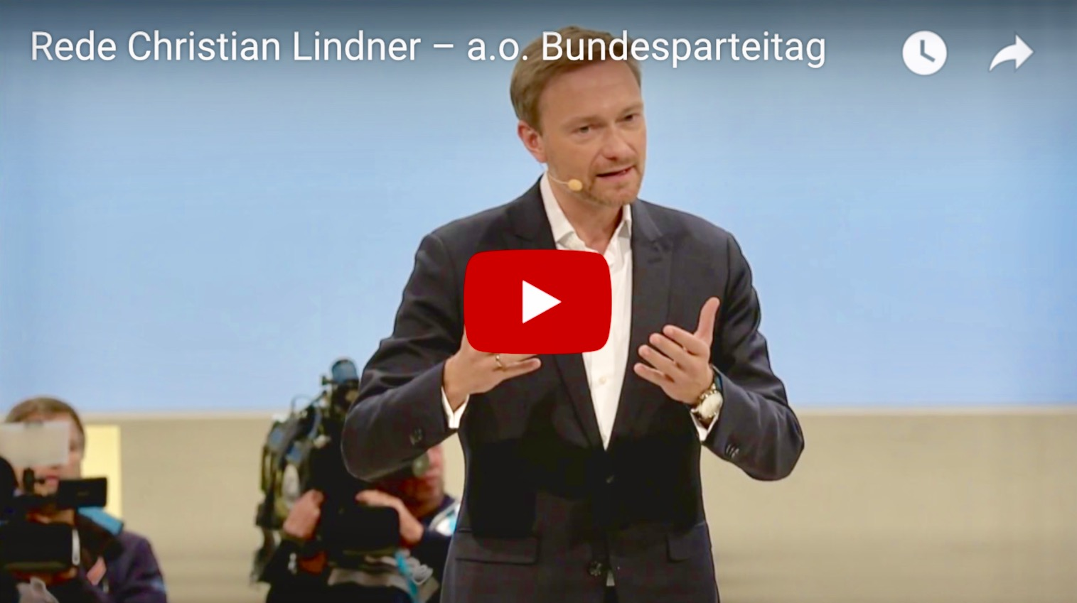 Video: Christian Lindner auf dem Bundesparteitag