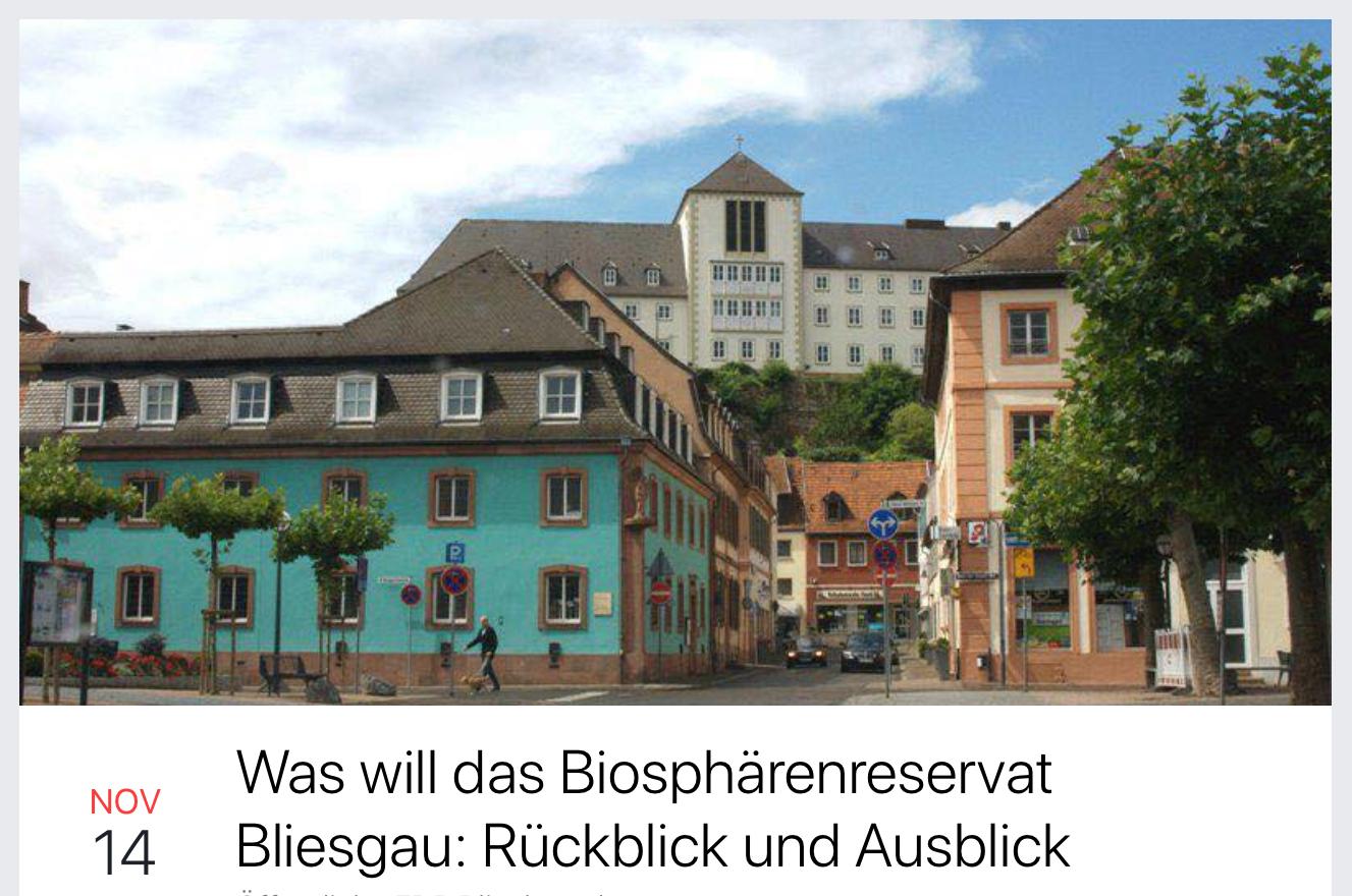 Was will das Biosphärenreservat Bliesgau – Rückblick und Ausblick